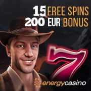 No deposit bonus at Energy Casino