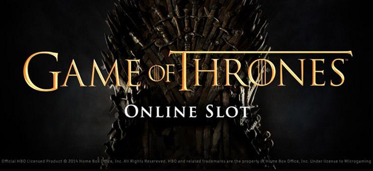 Game of Thrones online slot