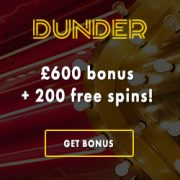 Dunder Casino 20 free spins