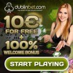 Dublinbet review, €10 free