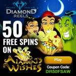 Diamond Reels Casino 50 free spins